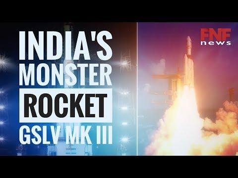 ISRO Heaviest Rocket GSLV MK III Launch