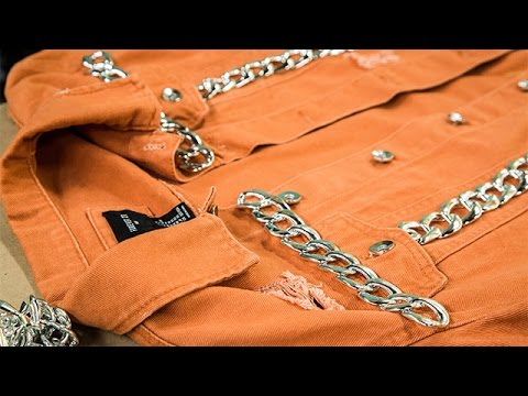 How To - Orly Shani's DIY Chained Hoodie - Hallmark Channel