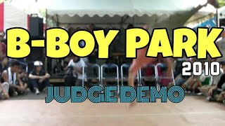 *B-BOY PARK 2010 BATTLE JUDGE MOVE*