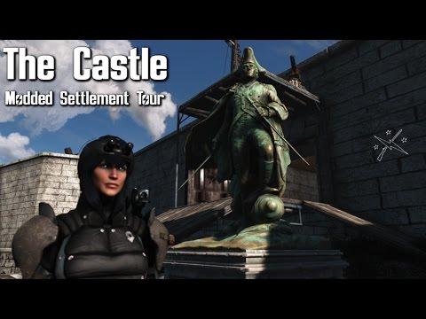 Fallout 4 Settlement Tour : The Castle (WIP)