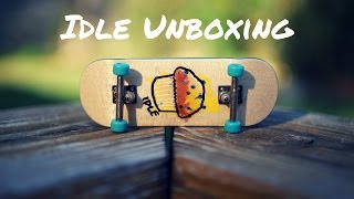 AMAZING HAND PAINTED FINGERBOARD!!! (Idle Fingerboards Unboxing/Review)