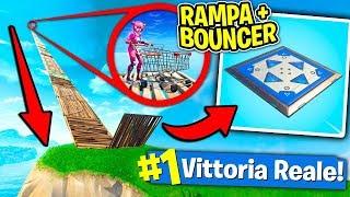 Fortnite ITA - CARRELLO + RAMPA + BOUNCER