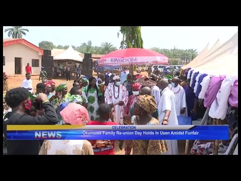 Download Okunozee family re-union day holds in Usen amidst funfair