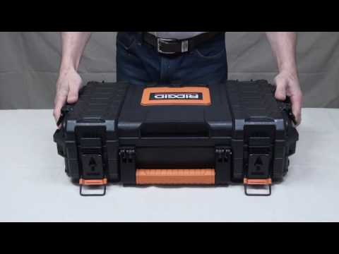 Make your BEST tool box from Ridgid Pro Organizer.