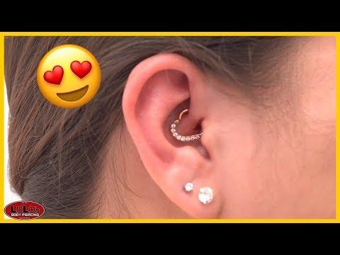 The Heart Ear Piercing AKA Daith Piercing