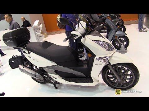 2015 Keeway Index 350 Scooter - Walkaround - 2014 EICMA Milan Motorcycle Exhibition