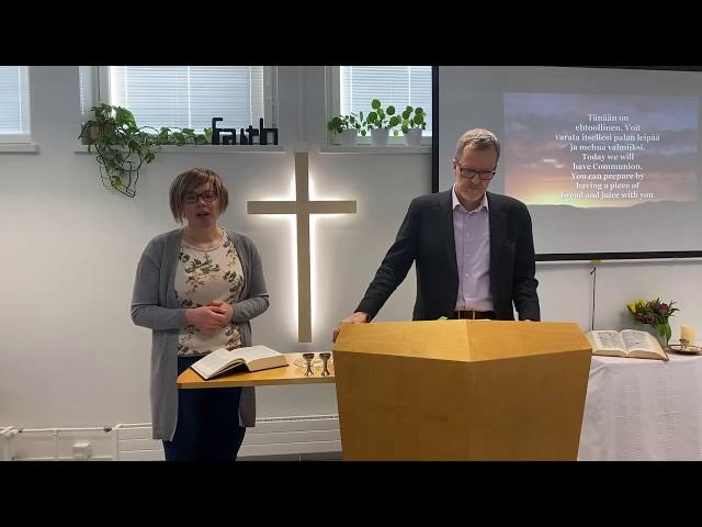 Sunnuntai / Sunday 5.4.2020 - Ehtoollinen