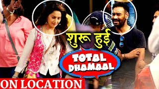 TOTAL DHAMAAL: Check out On Location Pictures