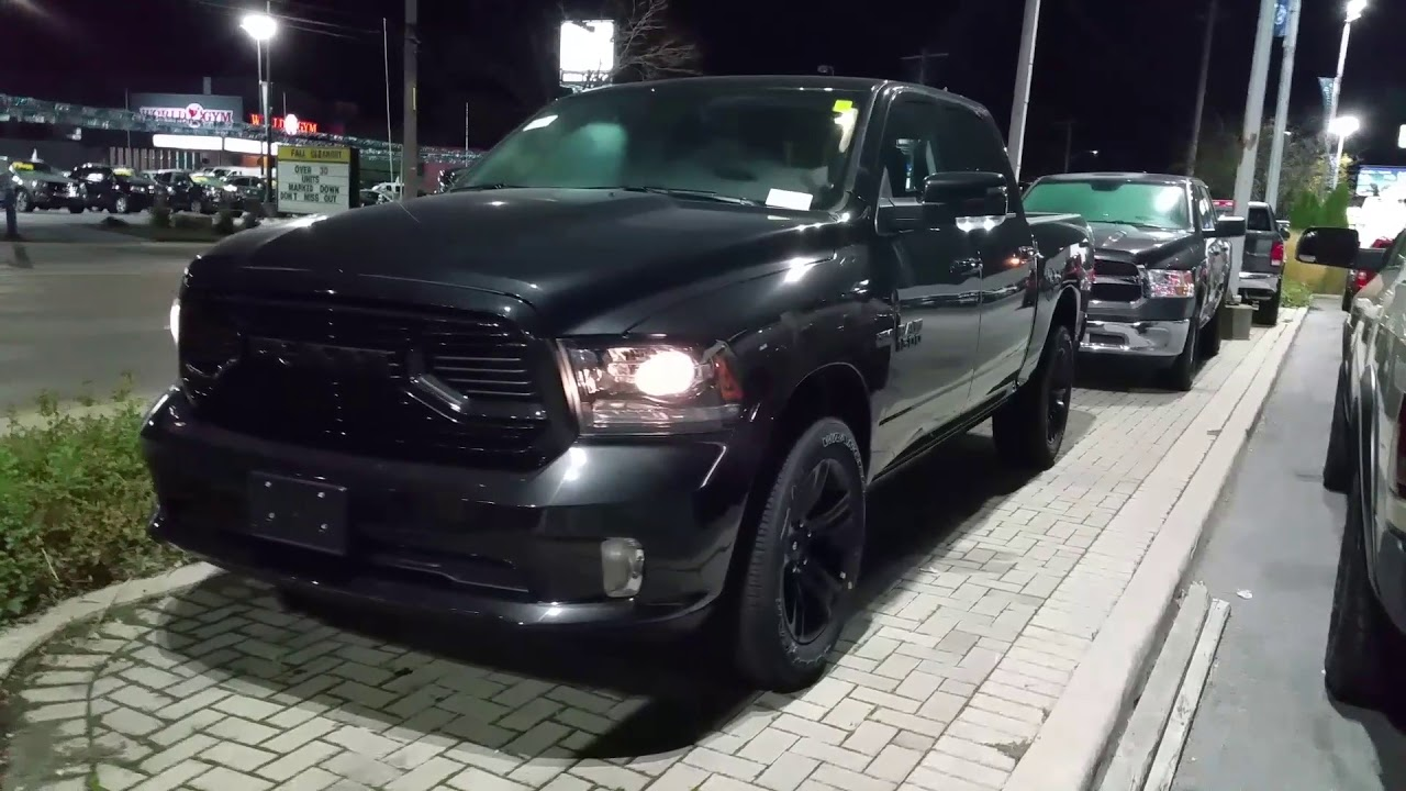 2018 ram 1500 night edition pictures