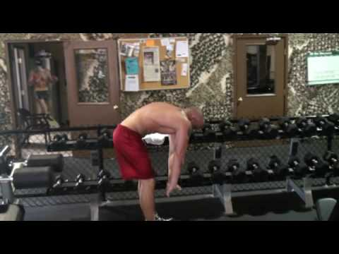 Jeremiah Riggs with Steve McKinney of Fitness & More Workout Pt 1