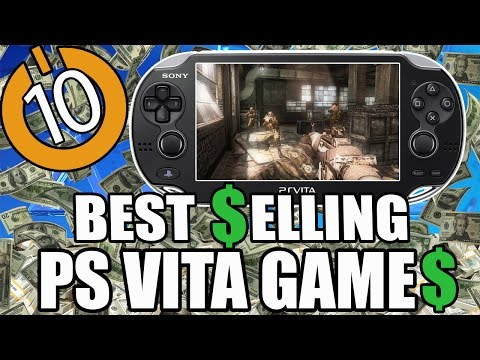 Top 10 Best Selling PS Vita Games of All Time