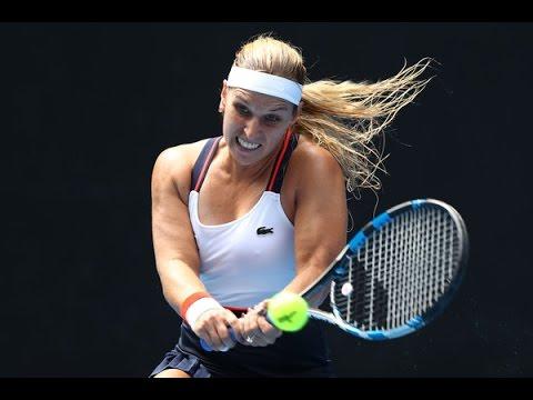 Dominika Cibulkova vs Denisa Allertova 2017 Women's Australian Open Singles 2017 First Round
