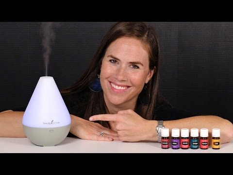Essential Oil Diffuser Use