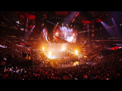 Dota 2 The International 2016 - Orchestra and drums concert