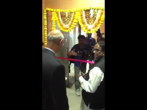 ADTRAN India Design Center Ribbon Cutting by IT Ministeronn