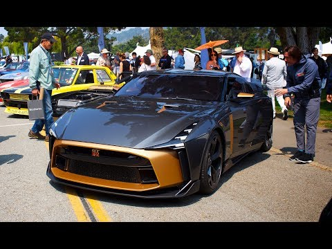Nissan GTR-50 By Italdesign - Drive at Monterey