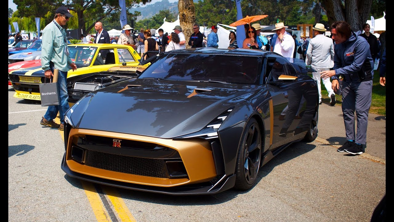 Nissan Gtr 50 By Italdesign Drive At Monterey Youtube