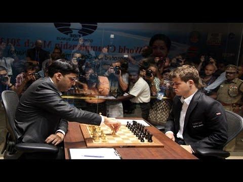 Anand vs Carlsen  World Chess Championship 2013 Game 2