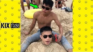 Watch keep laugh EP254 ● The funny moments 2018