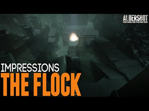 The Flock: Impressions (Competitive online indie game,  gameplay, and review)