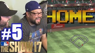 RETRO MODE AGAINST SOUP! | MLB The Show 17 | Retro Mode #5