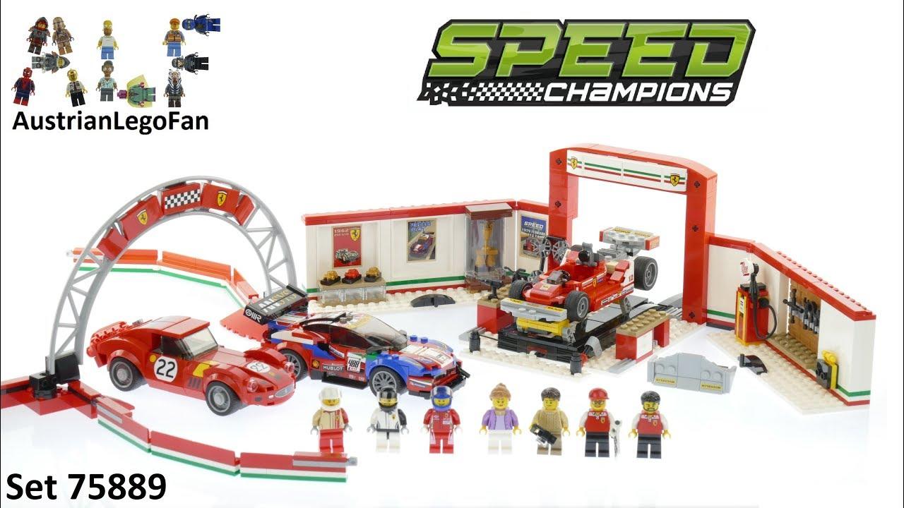 lego speed champions 75889 ferrari ultimate garage lego. Black Bedroom Furniture Sets. Home Design Ideas
