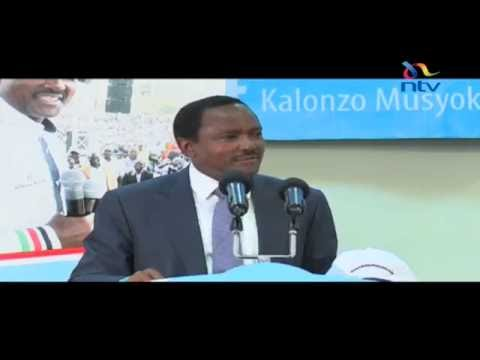 Kalonzo Musyoka launches his website in anticipation of the 2017 general election