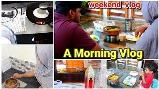 വിറകടുപ്പിൽ ഉണ്ടാക്കിയBreakfast||Ottada||scrambled egg curry||morning weekend vlog|recipe included|