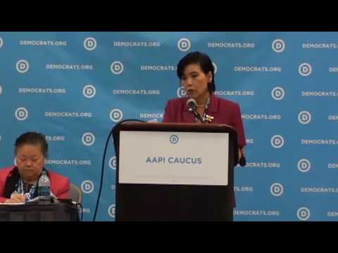 DNC 2016 - Day 1 - Asian American & Pacific Islander Caucus - Session 1