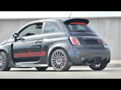Fiat 500 Abarth Stradale 300HP by Romeo Ferraris (Nouvelles Photos)