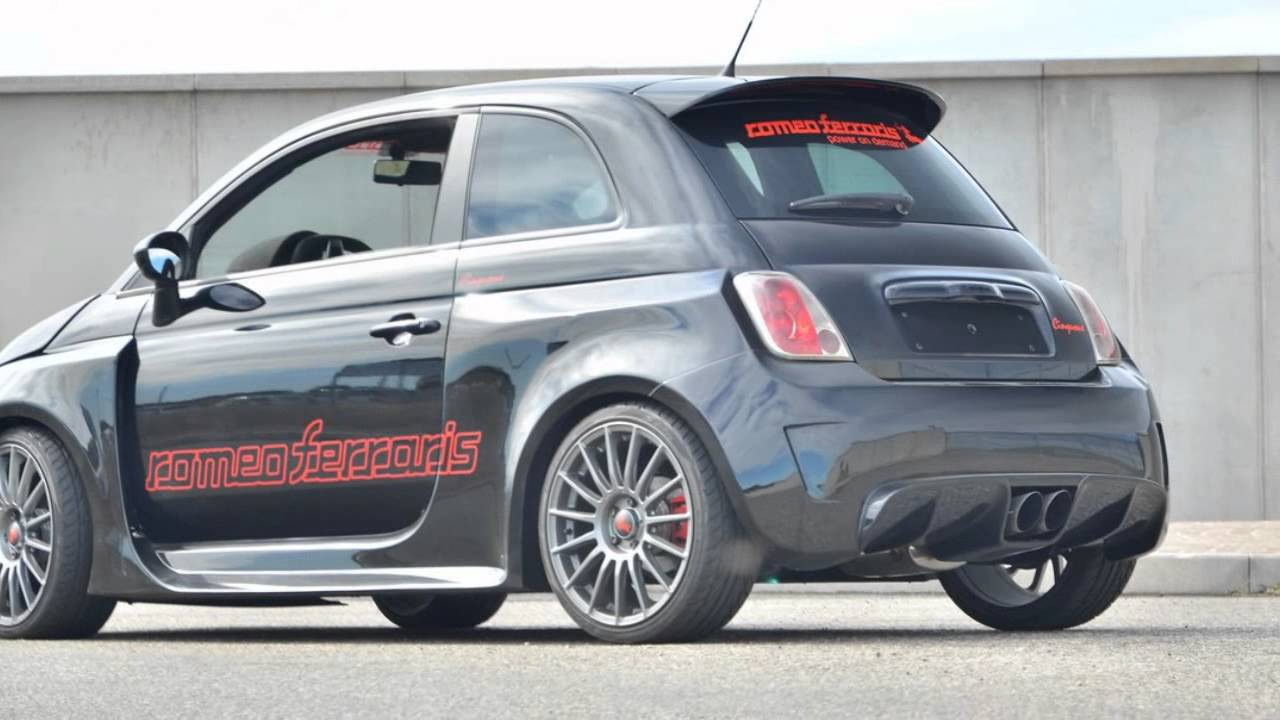 Fiat 500 Abarth Stradale 300HP by Romeo Ferraris (Nouvelles Photos
