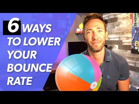 Website Bounce Rate: 6 Easy & Proven Tips to Decrease the Bounce - 동영상