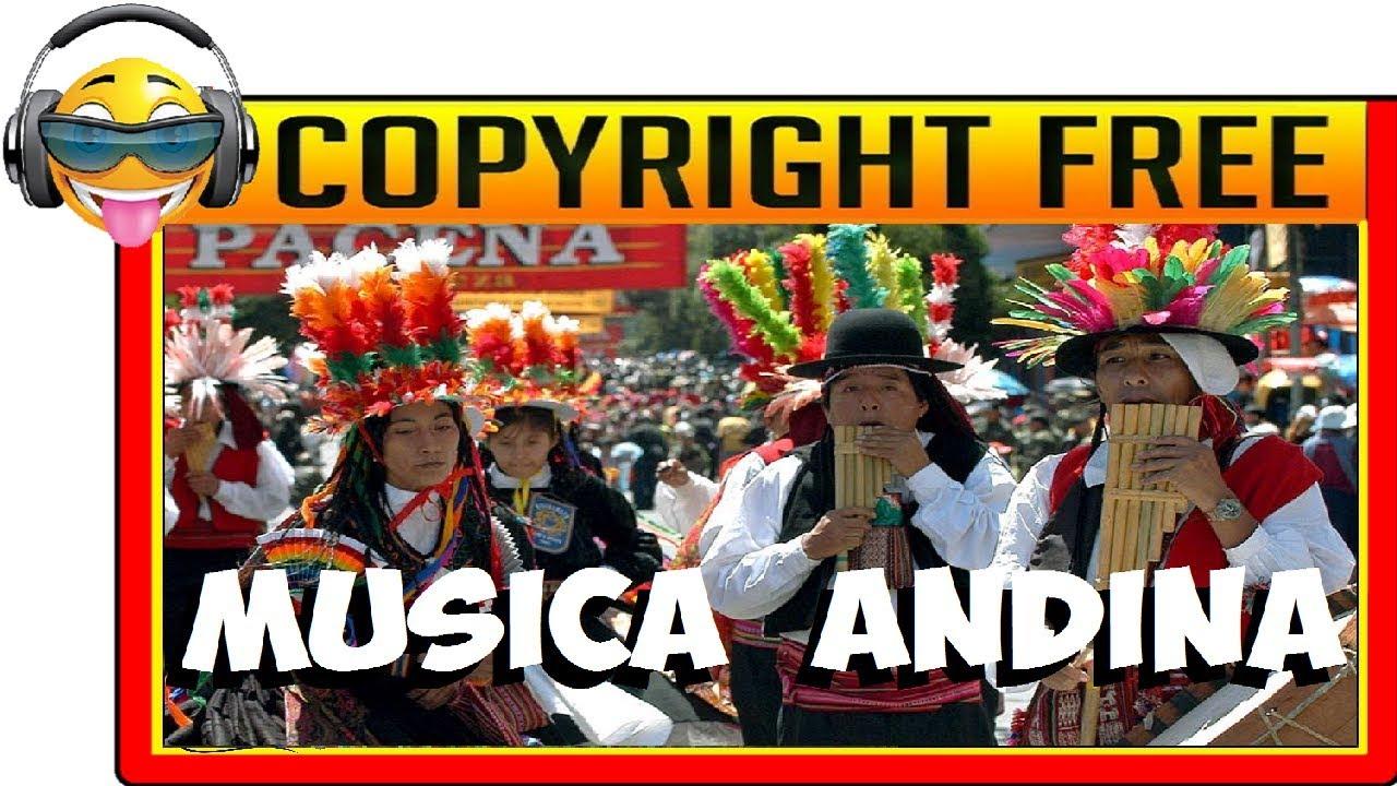 Música Andina Sin Copyright Zampoña Flauta De Pan Tmsc Youtube