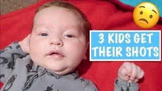 3 KIDS Get Their SHOTS | Australian Family Vlog