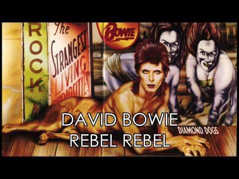 David Bowie - Rebel Rebel (lyrics)