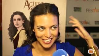 Elisa Mouliaá entrevista Fórmula Tv Presentacion Águila Roja FestVal de Vitoria