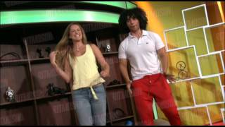 Fer Sagreeb aprende a bailar samba con la modelo Xuxu, parece que F...