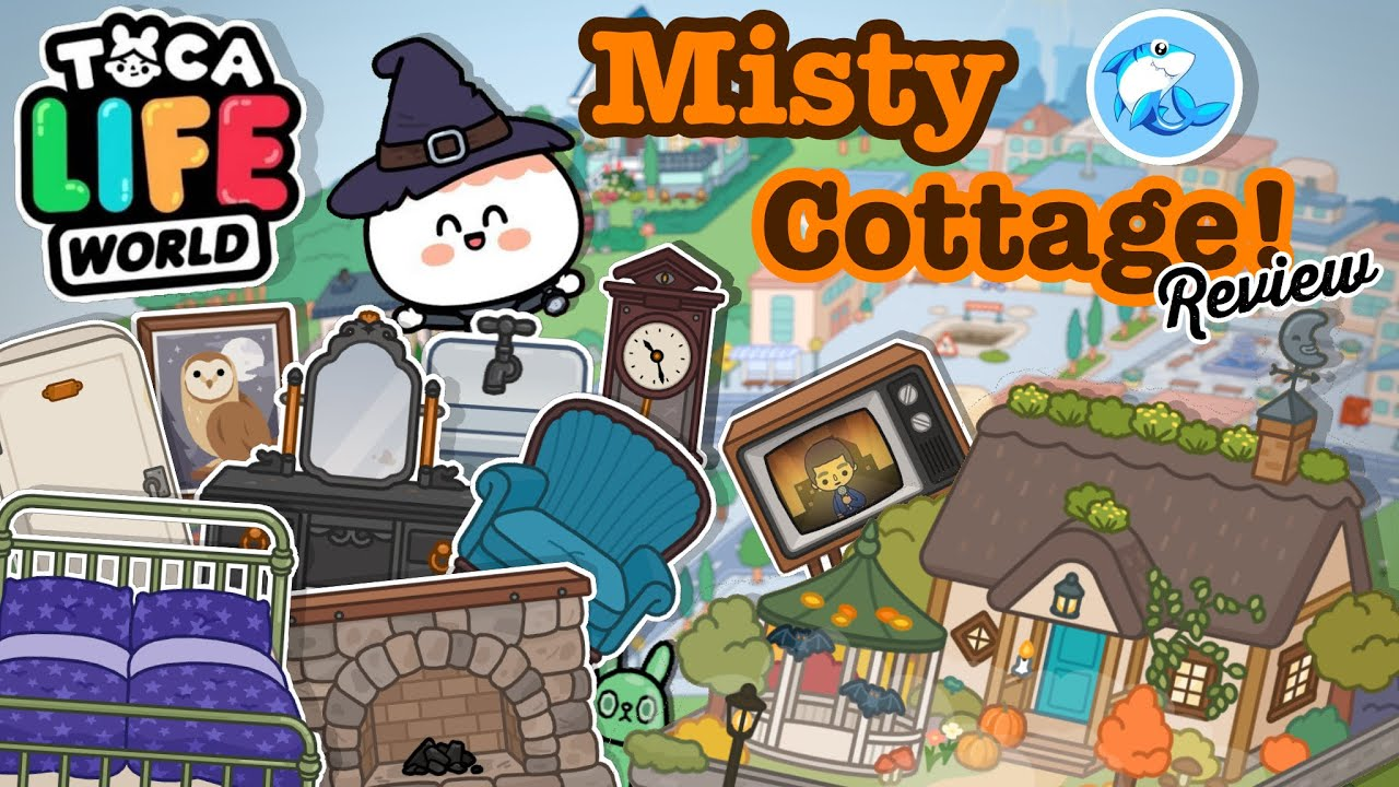 Toca Life World | Misty Cottage Review!? (Out Now!)