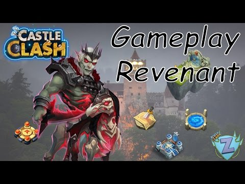 Castle Clash FR - Gameplay REVENANT