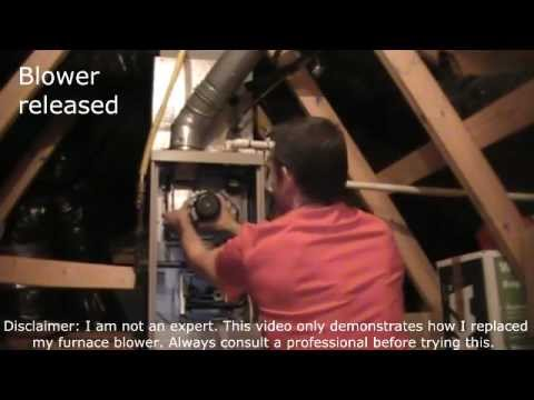 Replace lennox fan youtube for Lennox furnace blower motor not working
