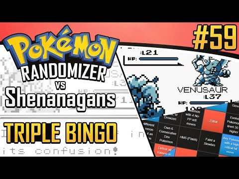 Pokemon Randomizer Triple Bingo vs Shenanagans #59
