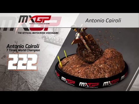 MXGP - The Official Videogame | Tony Cairoli Turntable | Xbox 360, PS3, PS Vita and PC | PQube Games