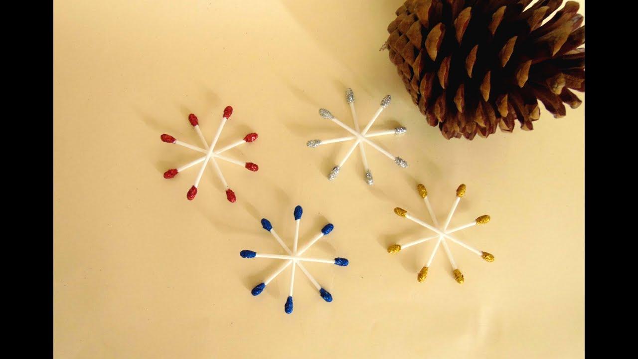 Hacer estrellas de navidad con bastoncitos youtube - Ideas para decorar estrellas de navidad ...
