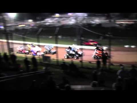 Williams Grove Speedway 410 Sprint Car Highlights 4-22-16