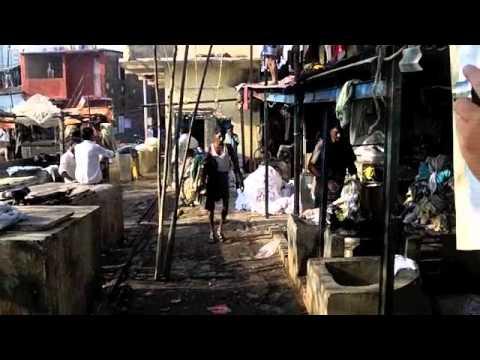 Mumbai, Red Light District and Laundry Slum (bombay) Kamathipura Area