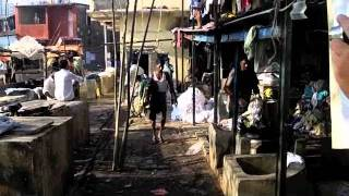 Mumbai, Red Light District and Laundry Slum (bombay) Kamathipura Area