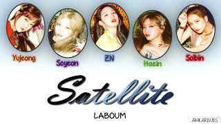 Laboum - Satellite [Eng Sub-Romanization-Hangul] Colour Coded Lyric