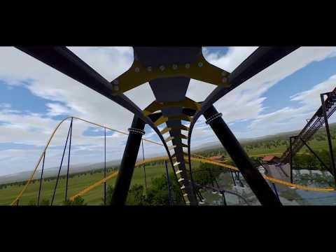 Canada's Wonderland New for 2019 B&M Inverted Coaster- Ziz Layout PREDICTION