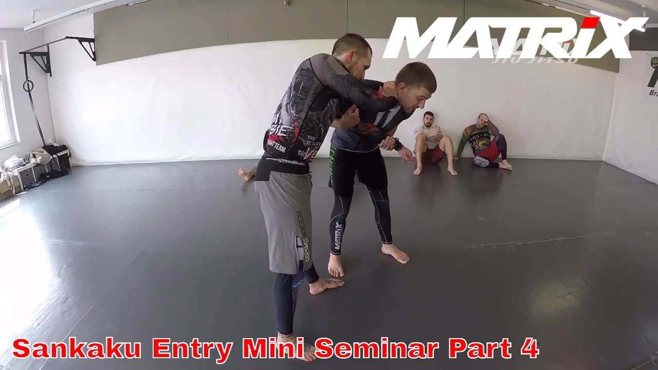 Inside Sankaku Entry´s from Butterfly Guard and Standup Mini Seminar Part 4