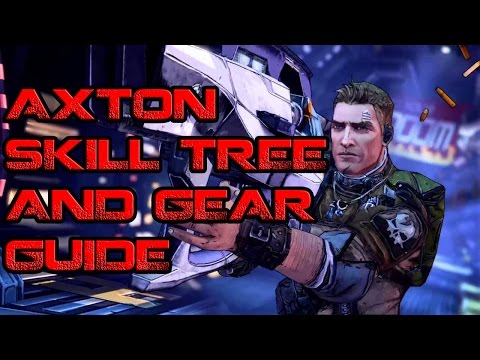 Borderlands Axton Skill Tree and Gear Guide with Demonite